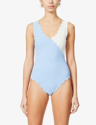 Marysia Swim Canyon scalloped swimsuit