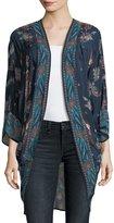 Tolani Shara Printed Kimono Jacket, Plus Size