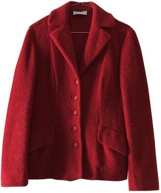 Philosophy di Alberta Ferretti \N Red Wool Jacket for Women