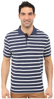 Nautica Short Sleeve Yarn-Dyed Polo