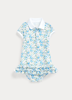 Ralph Lauren Ruffled Polo Dress & Bloomer