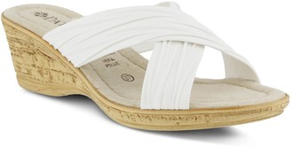 Patrizia by Spring Step Crisscross Slide WedgeSandals - Marge