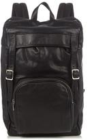 Saint Laurent Logo-debossed Leather Backpack