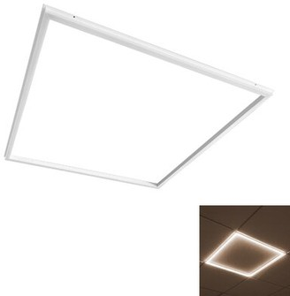 2' x 2' Dimmable LED Flat Panel Light Luxrite Number of Lamps: 1