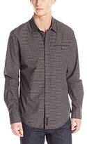 Calvin Klein Jeans Men's Tonal Check Besom Pocket Shirt