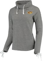 Unbranded Women's Black Cleveland Cavaliers Sunday-Funday Funnel Neck Knit Shirt