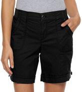 Croft & Barrow Women's Rolled Utility Shorts