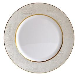 Bernardaud Sauvage White Dinner Plate