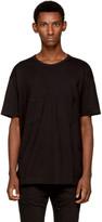 The Viridi-anne Black Double Pocket T-Shirt