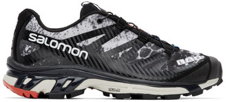 Salomon Black and Grey Limited Edition XT-4 ADV Sneakers