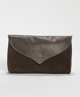 Levi's Blocked Suede Clutch