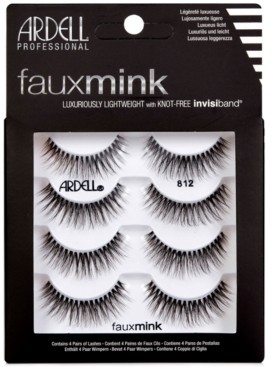 Ardell Faux Mink Lashes 812 4-Pack