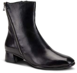 Spring Step Side Zip Leather Boots - Giachetta