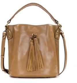 Patricia Nash Heritage Otavia Leather Bucket Bag