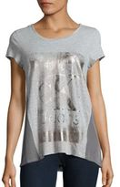 Calvin Klein Jeans Colorblock Graphic Printed T-Shirt