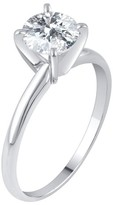 1.0 CT. T.W. IGL certified Round-cut Diamond Solitaire Prong Set Ring in 14K Gold (HI-I2I3)