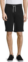 Rag & Bone Standard Issue Drawstring Sweat Shorts, Black