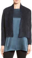 Eileen Fisher Plush Crop Cardigan