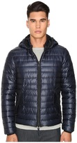 Duvetica Troilo Quilted Down Hooded Jacket Men's Coat