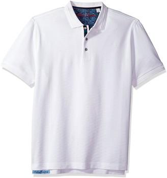 Robert Graham Men's Edwin Short Sleeve Polo