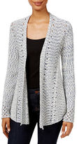 Style And Co. Petite Open-Knit Cardigan