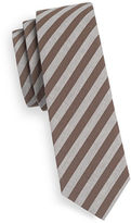 Haight And Ashbury Slim Striped Cotton Tie
