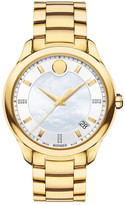 Movado Women's Swiss Quartz Diamond Accented Watch - 0.023 ctw