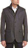 Pal Zileri Scooter Silk & Cashmere-Blend Jacket
