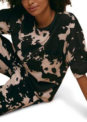 Topshop Cow Print T-Shirt