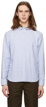 Gucci Blue Cotton Shirt