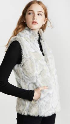 BB Dakota Jack By In A Furry Faux Fur Vest