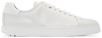 Salvatore Ferragamo White Cube Sneakers