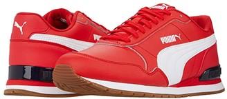Puma St Runner V2 Full L (High-Risk Red White) Men's Shoes