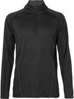 2xu - Thermal Active Textured Stretch-jersey Half-zip Top