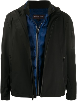 Michael Kors x Tech zip-up commuter jacket