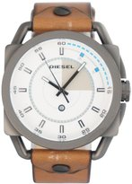 Diesel Men's DZ1576 Brown Leather Quartz Watch with Dial