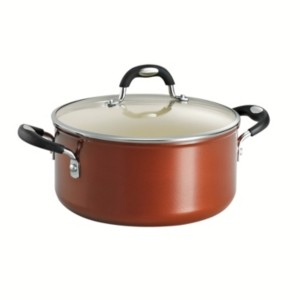 Tramontina Style Ceramica Metallic Copper 5 Qt Covered Dutch Oven