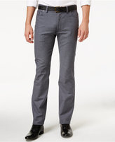 Vince Camuto Men's Charcoal Twill Stretch Pants