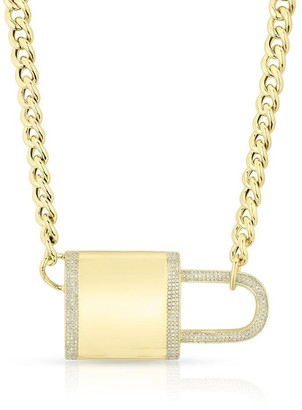 Anne Sisteron Dia Lovelock Necklace