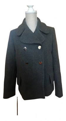 Tara Jarmon Grey Wool Coats
