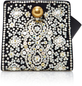 Tory Burch Large Dexter Embroidered Clutch