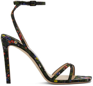 Jimmy Choo Multicolor Metz 100 Heeled Sandals