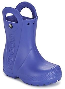 Crocs HANDLE IT RAIN BOOT girls's Wellington Boots in Blue