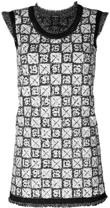 Chanel Pre Owned Sequinned Knitted Dress