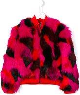 Kenzo tiger stripe fluffy jacket