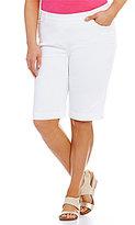 Allison Daley Plus Pull-On Bermuda Shorts