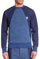 PRPS Quilted Raglan Pullover