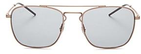 Ray-Ban Unisex Brow Bar Square Sunglasses, 55mm