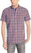 Nautica Men's Union Plaid Short Sleeve Shirt