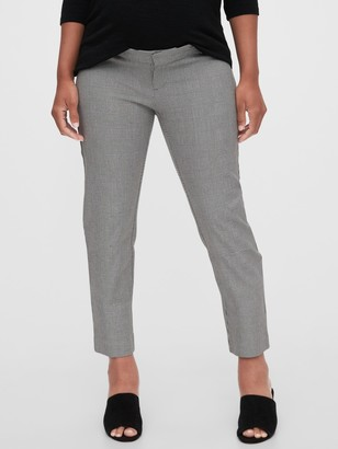 Gap Maternity Inset Panel Slim Ankle Pants